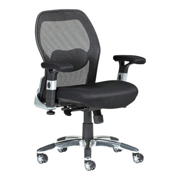 Milan Direct Deluxe Low Back Mesh Ergonomic Office Chair Amp Reviews Temple Amp Webster