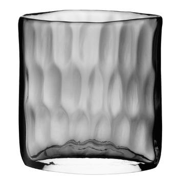 Dimpled Short Glass Vase Temple Webster