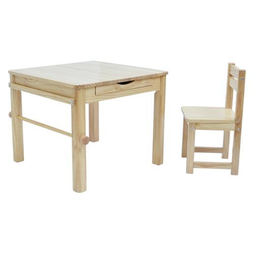 Tikk Tokk 2 Piece Little Boss Art Table & Chair Set