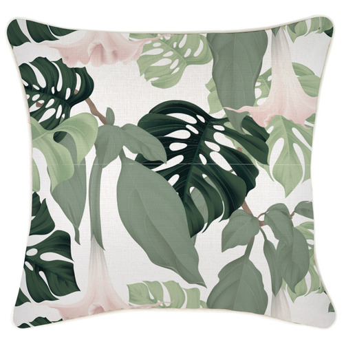 Escape to Paradise Hanoi Piped Square Outdoor Cushion