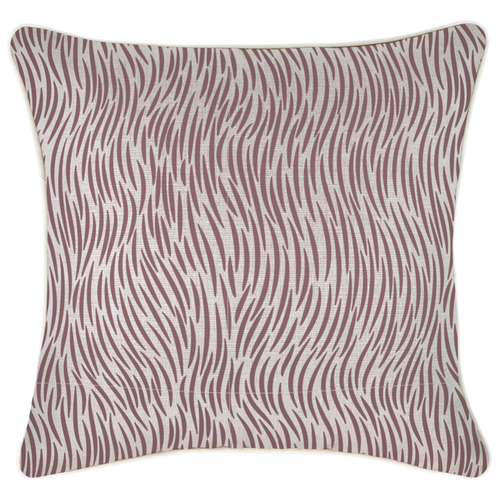Rose Wild Piped Square Outdoor Cushion
