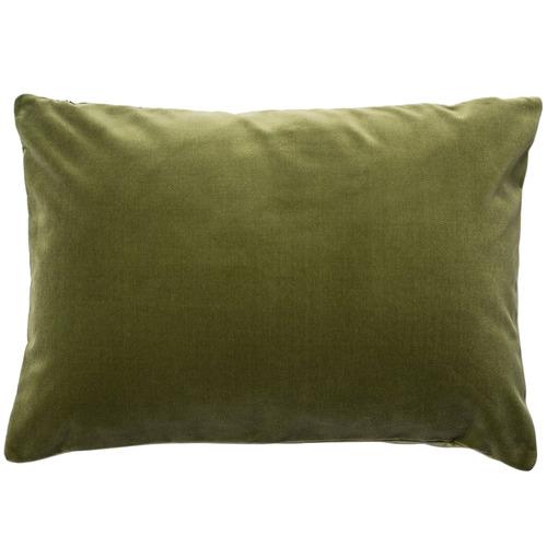 Escape to Paradise Rectangular Velvet Outdoor Cushion