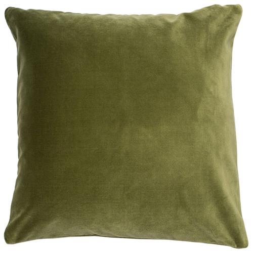 Escape to Paradise Square Velvet Outdoor Cushion