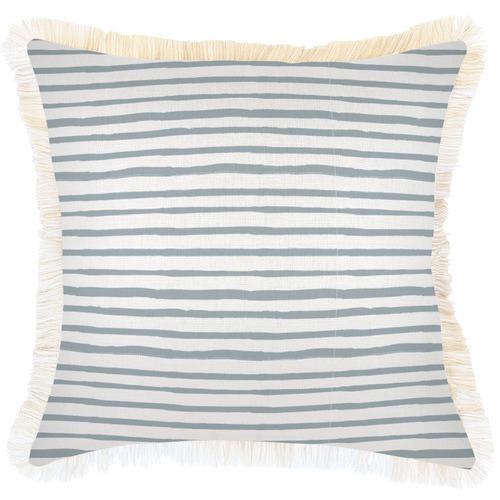 Coastal Striped Square Cushion