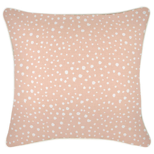 Lunar Pipe Edge Square Cushion