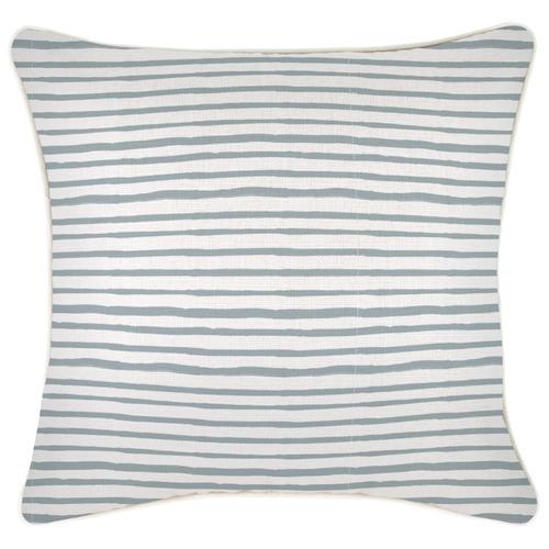 Striped Pipe Edge Cushion