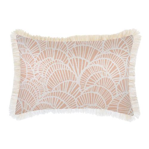 Positano Coastal Fringe Cushion Cover