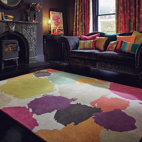 Harlequin Berry Paletto Hand-Tufted Wool Rug