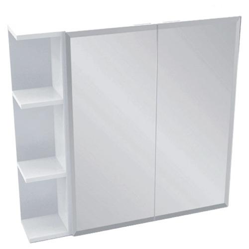 Kander 75cm Bevel Mirror Cabinet Set with 3 Shelves