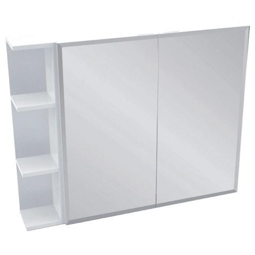 Kander 90cm Bevel Mirror Cabinet Set 3 Shelves
