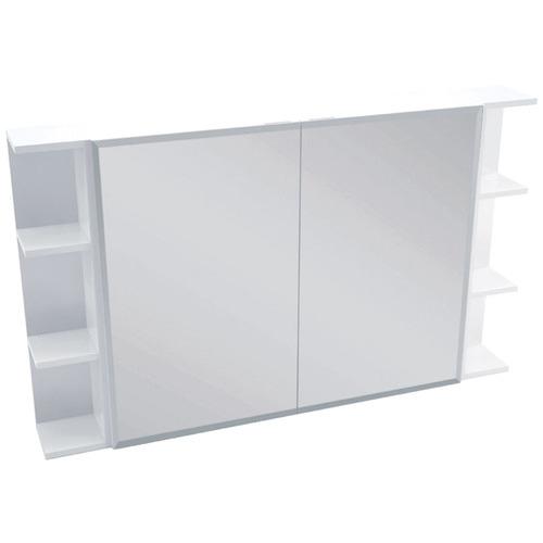 150cm Nievo 2 Panel Shaving Cabinet with 6 Shelves