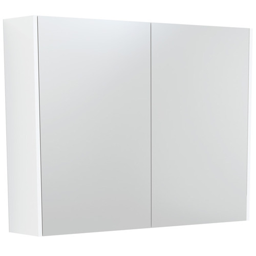 90cm Unity 2 Panel Bathroom Cabinet