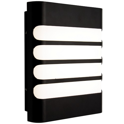 Mercator Black Dale Outdoor Wall Light