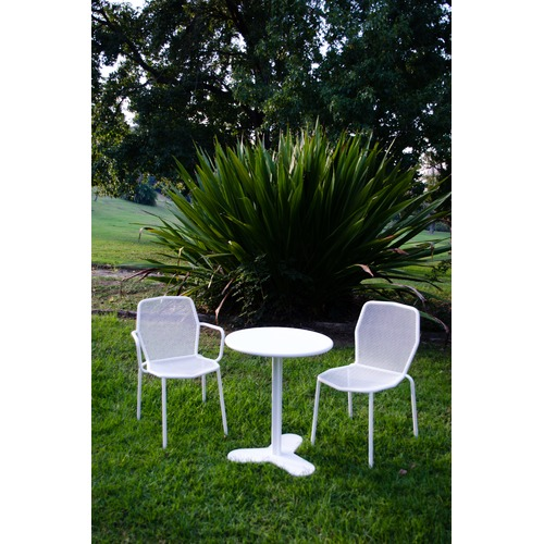 SLH House Trevi Steel Outdoor Dining Chairs