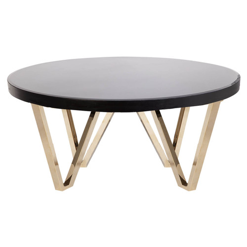 Porter Round Coffee Table: Temple & Webster