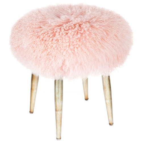 Shaggy Fur Bilbao Stool Temple Amp Webster
