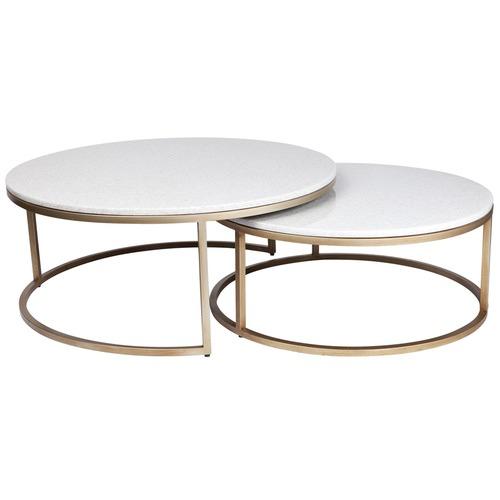 Lexington Home 2 Piece Chloe Nesting Tables Set