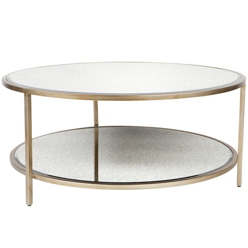 Lexington Home Round Cocktail Coffee Table