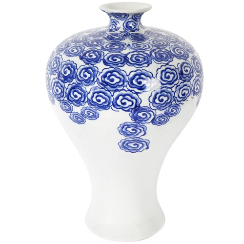 lexington home ceramic ming vase - Ming Vase