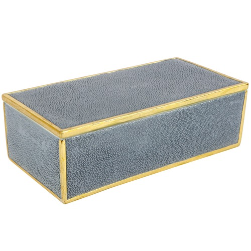 Lexington Home Large Pique Rectangular Storage Box