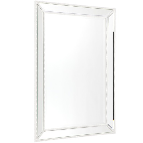 Medium Zeta Beaded Wall Mirror