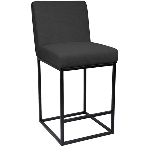 Lexington Home Black Cannes Pinewood Kitchen Stool