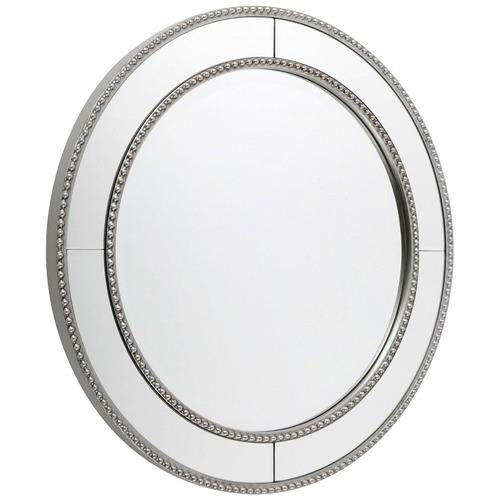 Antique Silver Zeta Wall Mirror