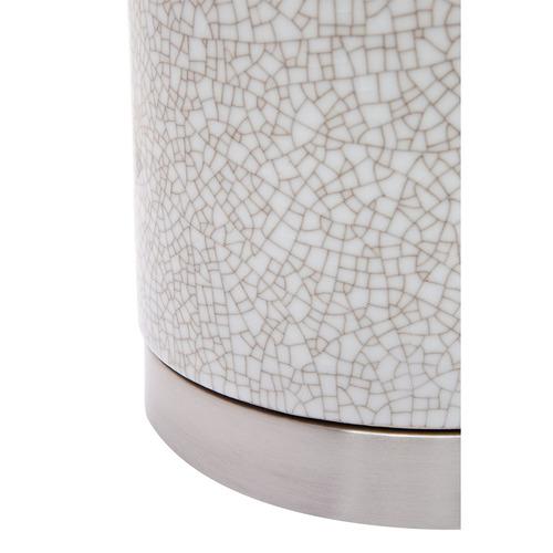 Lexington Home White Bogart Ceramic Table lamp
