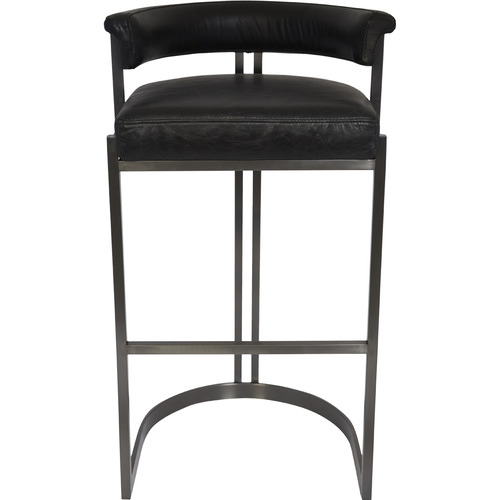 Lexington Home 75cm Morgan Top Grain Leather Barstool