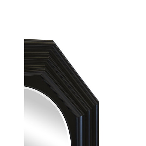 Lexington Home Black Reynolds Wall Mirror