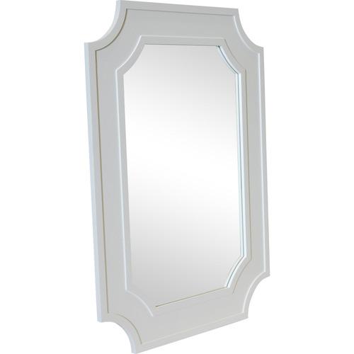 Lexington Home White Bungalow Wall Mirror