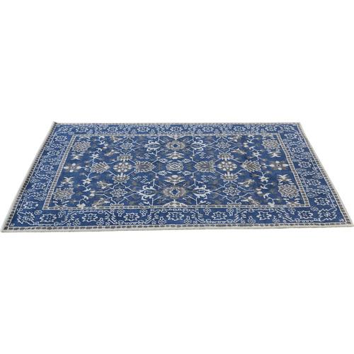 Lexington Home Blue Tabriz Wool Rug