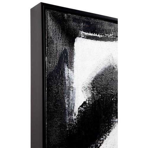 Lexington Home 2 Piece Introvert Extrovert Handcrafted Oil Painting Framed Canvas Wall Art Set
