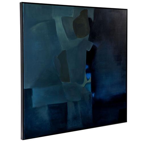 Lexington Home Maracas Escape Handcrafted Oil Painting Framed Canvas Wall Art