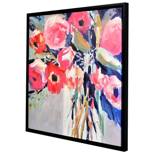 Lexington Home Mixed Daisy Framed Canvas Wall Art