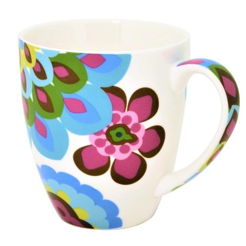 French Bull Oasis Porcelain Chubby Mug