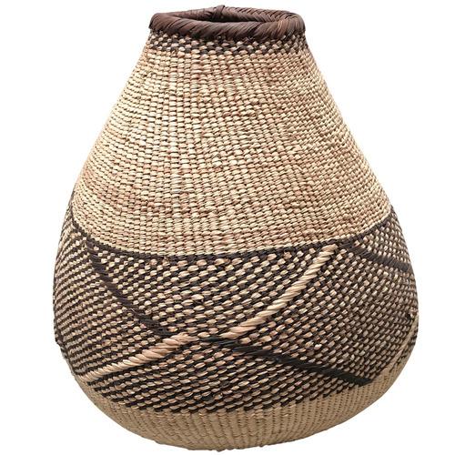 Tribal Expressions 40cm Binga Palm Batonga Basket