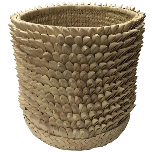 Tribal Expressions Natural Prickly Ilala Pal Basket