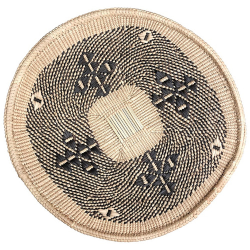Tribal Expressions Hwange Ilala Palm Serving Basket