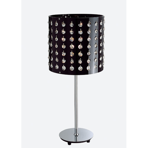 Table lamp with crystal temple webster for Table lamp emporium