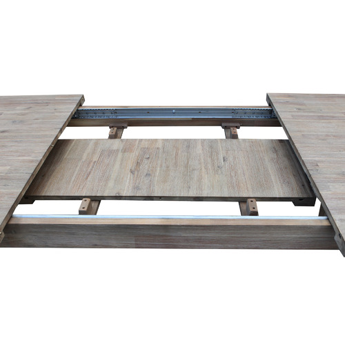 By Designs Grey Marco Extendable Wooden Dining Table