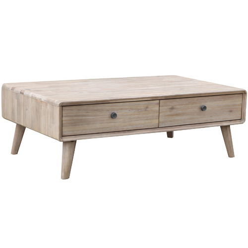 By Designs Light Timber Marco Acacia Coffee Table