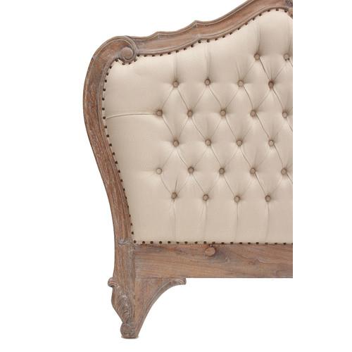 Carrington Furniture Louis Upholstered Queen Bedhead