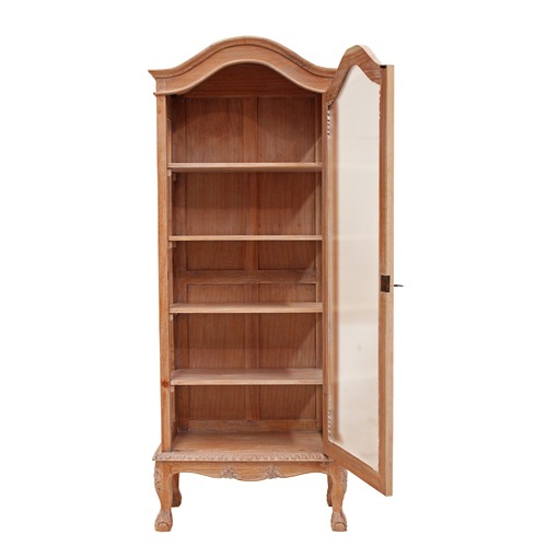 Carrington Furniture French Provincial 1 Door Showcase Cabinet