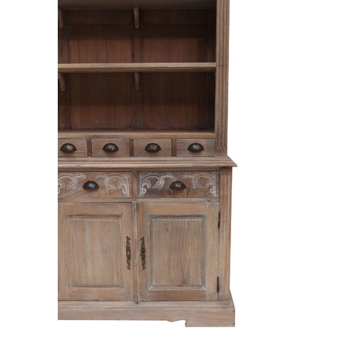 Carrington Furniture French Provincial Farmhouse Kitchen Buffet And Hutch & Reviews