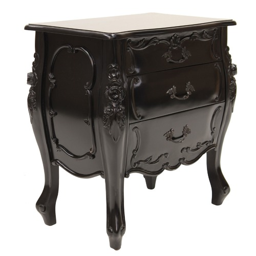 Carrington Furniture French Provincial Aubrey Bedside Table