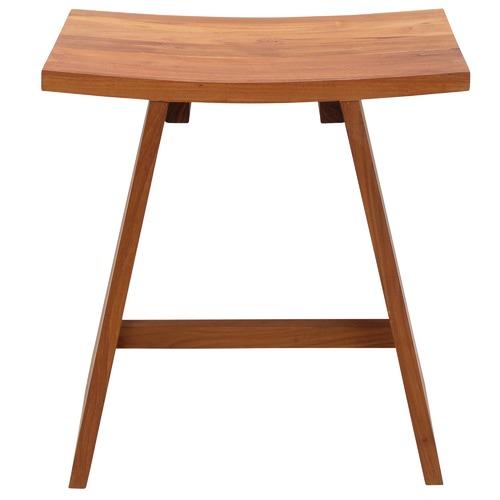 Carrington Furniture Small Clement Teak Stool