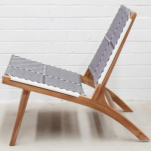 Carrington Furniture Zahara Teak Outdoor Lounge Chair