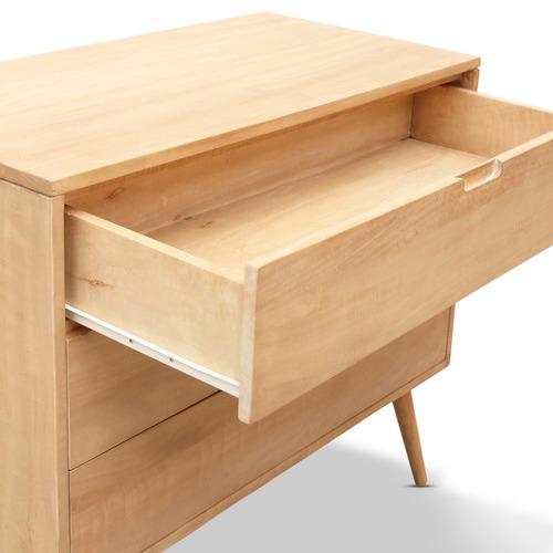 Carrington Furniture Kiruna 3 Drawer Mango Wood Lowboy