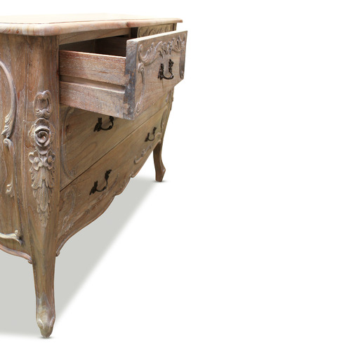 Carrington Furniture Ornate Rococo Chest of Drawers